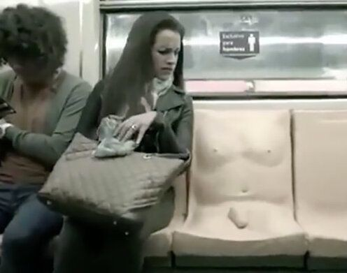 Penis Subway Seat In Mexico City Is Meant To Teach Men About Sexual Assault