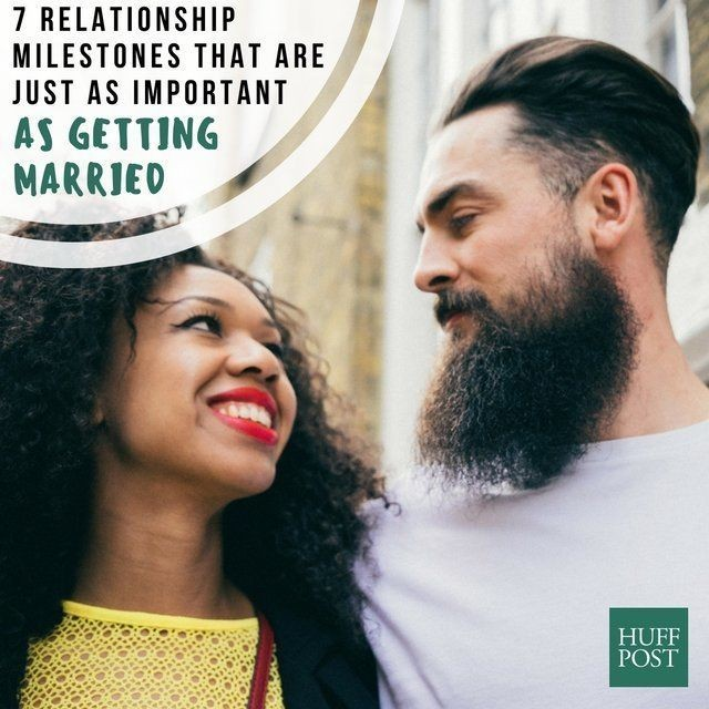 7 Relationship Milestones That Are Just As Meaningful As Marriage | HuffPost Life