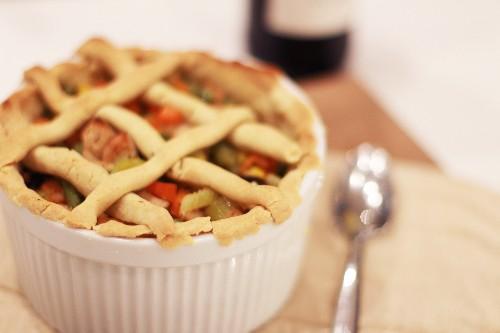 Gluten-Free Lavender Chicken Pot Pie