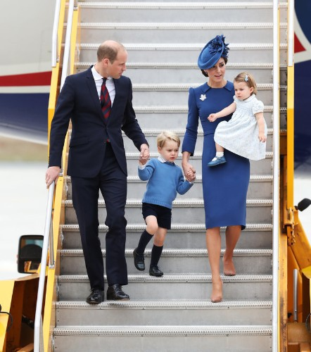 Drop Everything: Prince George And Princess Charlotte Have Arrived In Canada