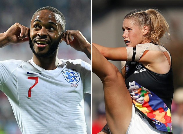 Raheem Sterling And Tayla Harris Are Icons Of Sport's Fight Against Discrimination