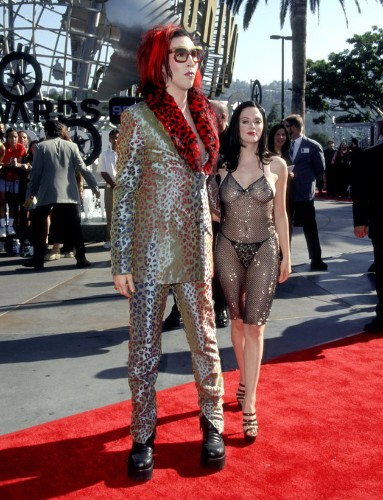 Rose McGowan Says VMAs 'Naked' Dress Was Her Response To Being Sexually Assaulted