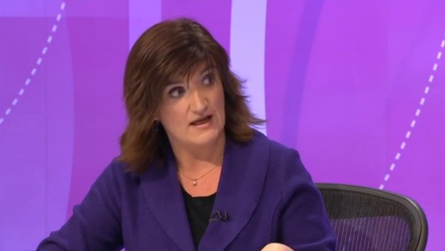 Nicky Morgan Refuses To Answer Question On £4bn Disability Cuts, Flounces From Interview Instead