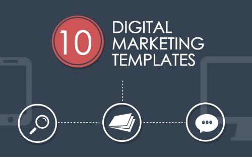 10 Digital Marketing Templates for Lightning-Fast Execution