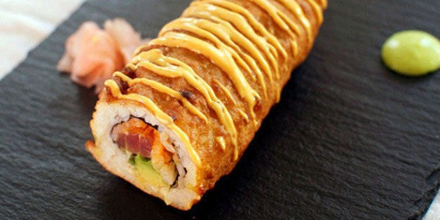 The Spicy Tuna Roll Corn Dog Is What America Does With Sushi | HuffPost Life
