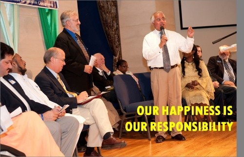Our Happiness Is Our Responsiblity