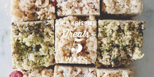 A Kitchy Kitchen Recipe: Rice Krispies Treats 5 Ways | HuffPost Life