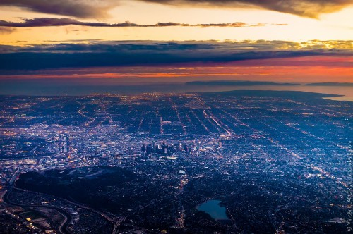 Los Angeles Looks Gorgeous From 10,000 Feet In The Air