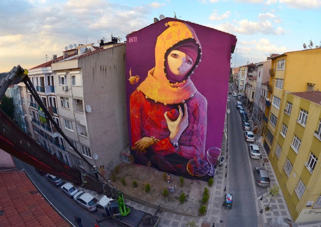 Street Art Murals From All 196 Countries In The World Show We're Not That Different After All