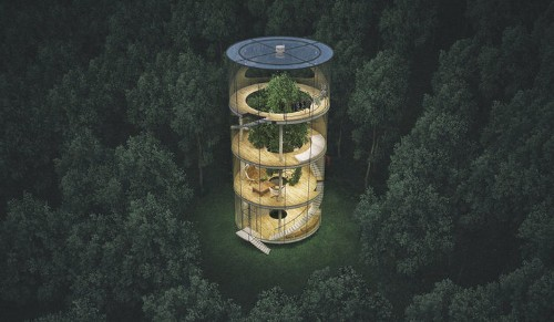 This Glass Treehouse Is The Escape We've Been Waiting For