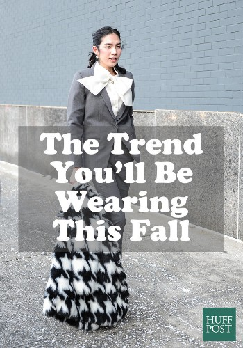 How To Wear Tie Neck Blouses, Fall's Biggest Trend | HuffPost Life