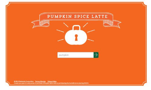 Get A Starbucks Pumpkin Spice Latte Early With This Password   HuffPost Life