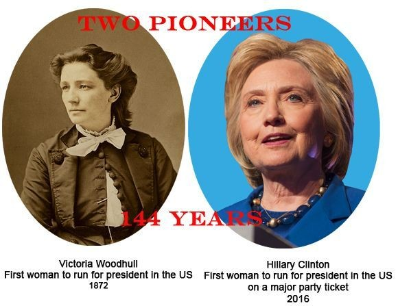 Women In Politics And American Society: A Tale Of Two Firsts