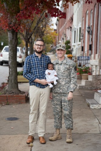 A Gay Military Family Shares Their Journey To Fatherhood