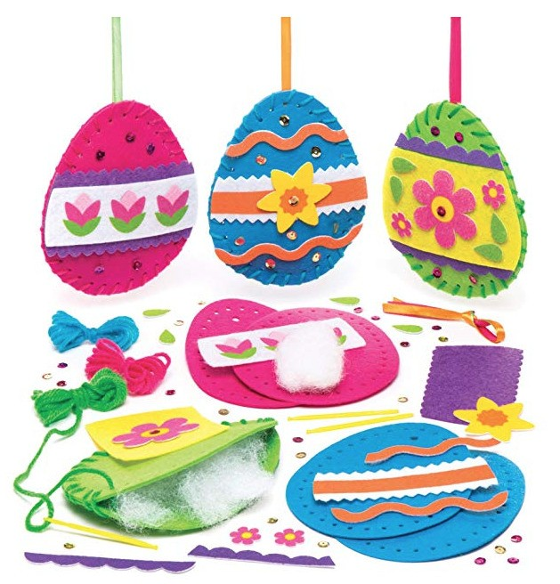Best Easter Crafts With Kids: Baskets, Bonnets And Felt Eggs You Can Buy On Amazon