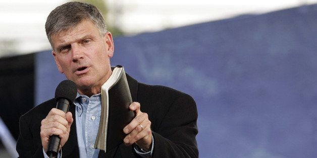 The Bible Does Not Condemn Homosexuality. Why Does Franklin Graham Not Get This?