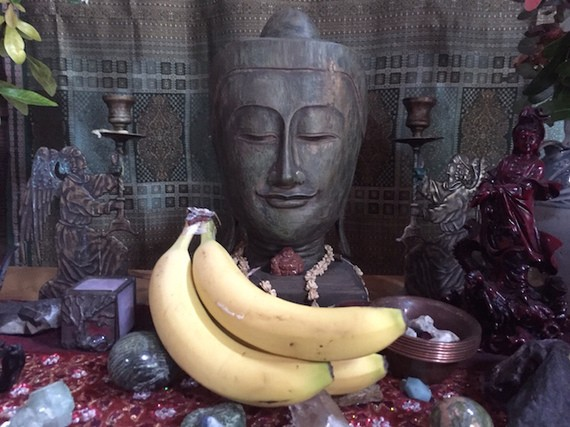 Bananas, Buddhism, and Me, Me, Me