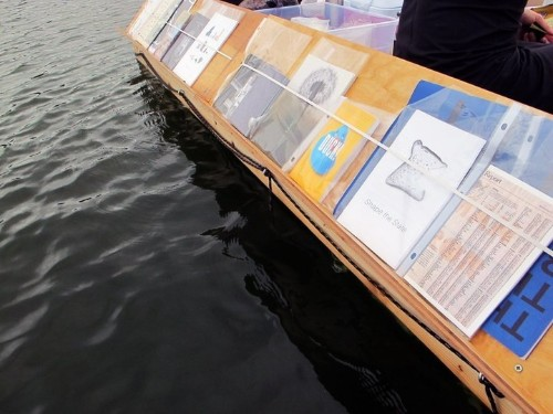 Floating Library Proves Books Should Be Shared In Improbable Places