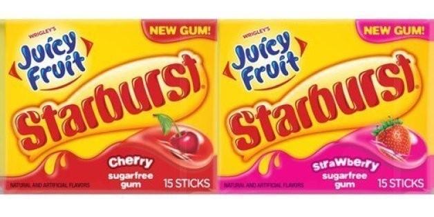 Juicy Fruit Gum Now Comes In Starburst Flavors | HuffPost Life