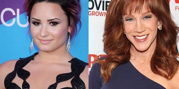 Kathy Griffin Gets Death Threats From Demi Lovato's Fans After Brief Twitter Feud