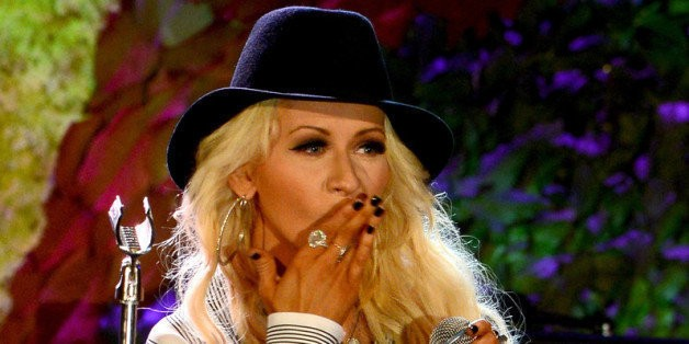 Pregnant Christina Aguilera Reveals She's Expecting A Baby Girl