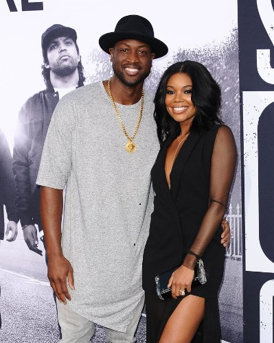 Gabrielle Union Is Ultra Chic In Sheer-Paneled Dress   HuffPost Life