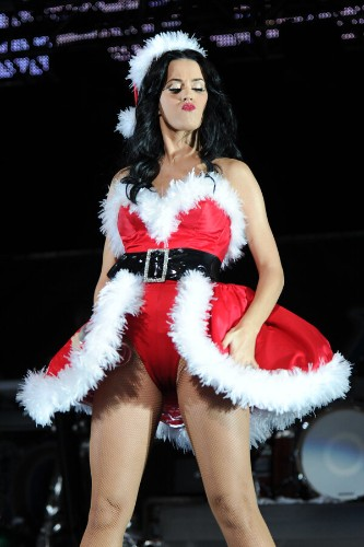 Celebrities In Santa Suits And Hats Will Make Your Holiday Even Merrier