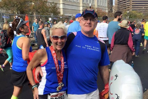 With Terminal Illness, Woman Runs Last Marathon