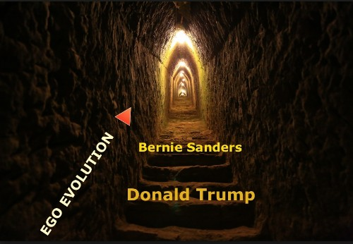 Ego Evolution: Donald Trump vs Bernie Sanders