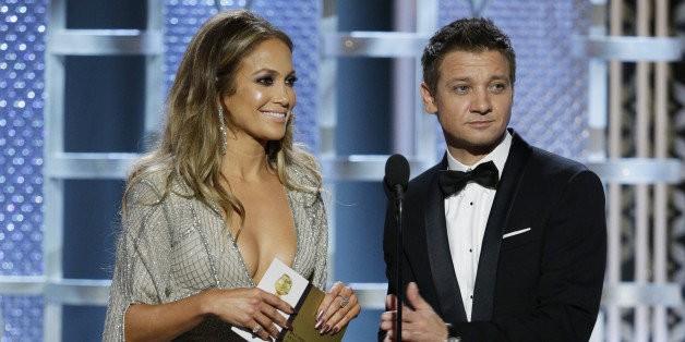 Jeremy Renner Defends His Joke About Jennifer Lopez's 'Globes'