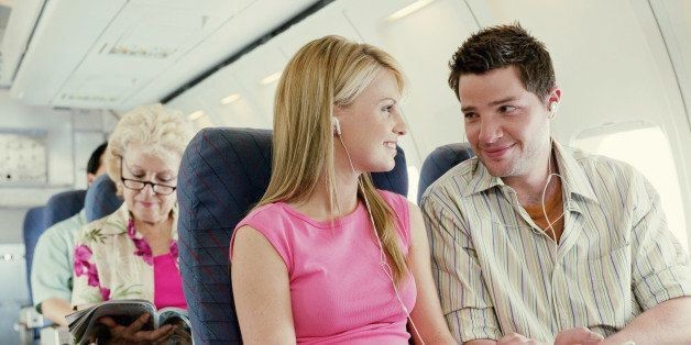 The Rules of Flirting On a Plane | HuffPost Life