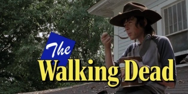'The Walking Dead' Is Even Better As An '80s Sitcom