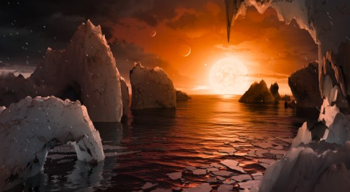 Scientists Discover 'Treasure Trove' Of Earth-Sized Planets Orbiting Nearby Dwarf Star