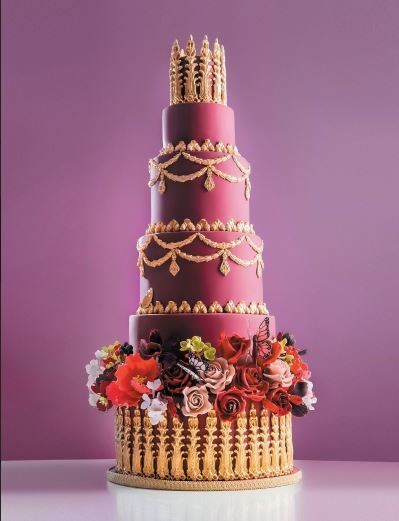 Top Ten Trends For Wedding Cakes This Summer