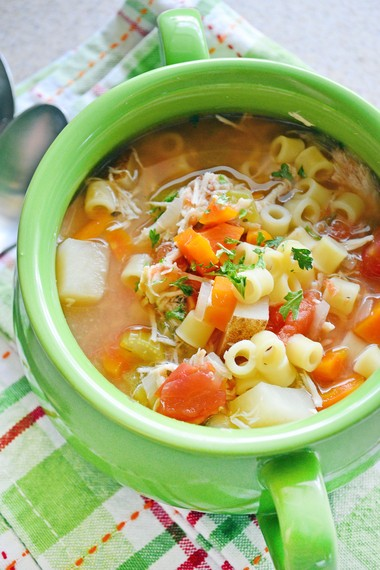 Grab a Bowl of Mama Mandola's Chicken Soup!