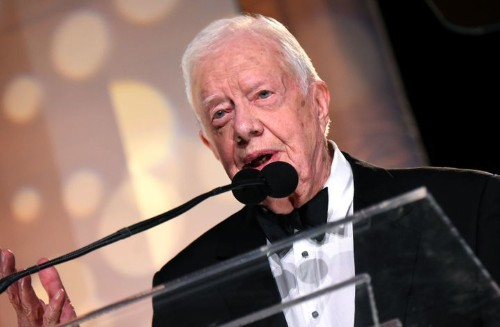 Jimmy Carter Addresses Sunday School Class Hours After The Sudden Death Of His Grandson