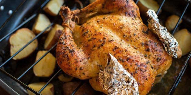 An Easy Roast Chicken Dinner -- on the Grill | HuffPost Life