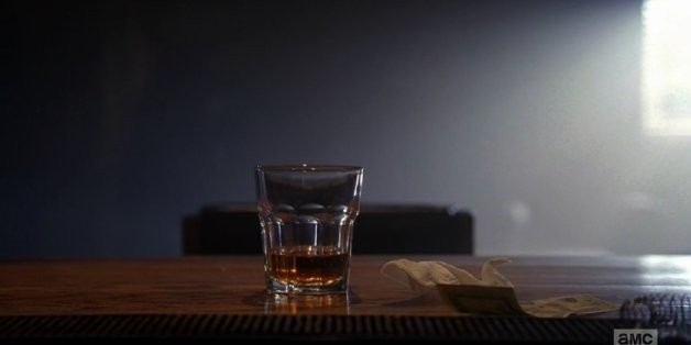 Dimple Pinch: Walter White's Final Drink