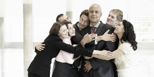 To Hug or Not to Hug in the Workplace?