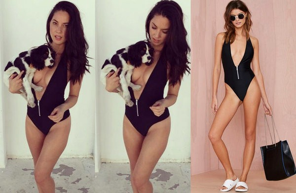 Plunging Swimsuits, Tight Dresses And More Looks That Made Our Cheap Celeb Finds List