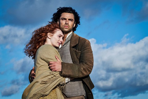 """""""Follow the Good Work"""": Aidan Turner on Poldark , Acting, and Happiness"""