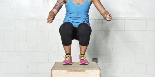 A 15-Minute Plyometrics Workout For Cardio And Power