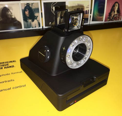 New Polaroid-Like Instant Camera Literally an Impossible Project