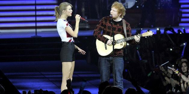Taylor Swift, Ed Sheeran And Cara Delevingne Sing The Knife's 'Heartbeats' At U.S. Ambassador's Home