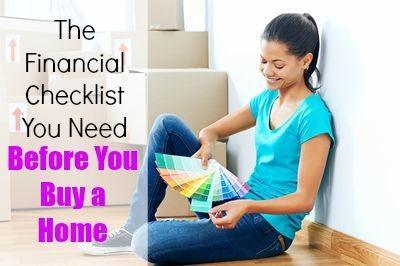 Your 4-Step Financial Checklist to Buying a Home