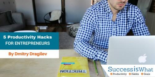A CEO shares 5 Powerful Productivity Hacks