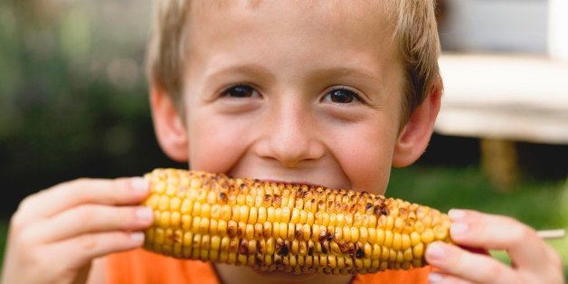 Sweet And Savory Grilled Corn On The Cob