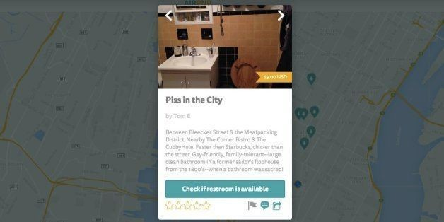 Airpnp Is The Best Way To Find Toilets In A Hurry | HuffPost Life