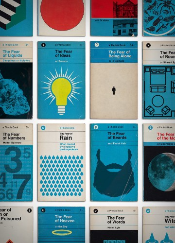 Don't Judge Your Phobias By These Cool Vintage Book Covers