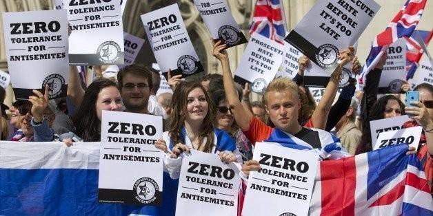 Rallies Protesting Anti-Semitism Held Across Europe